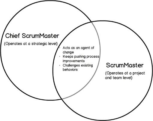 'Chief ScrumMasters' and ScrumMasters